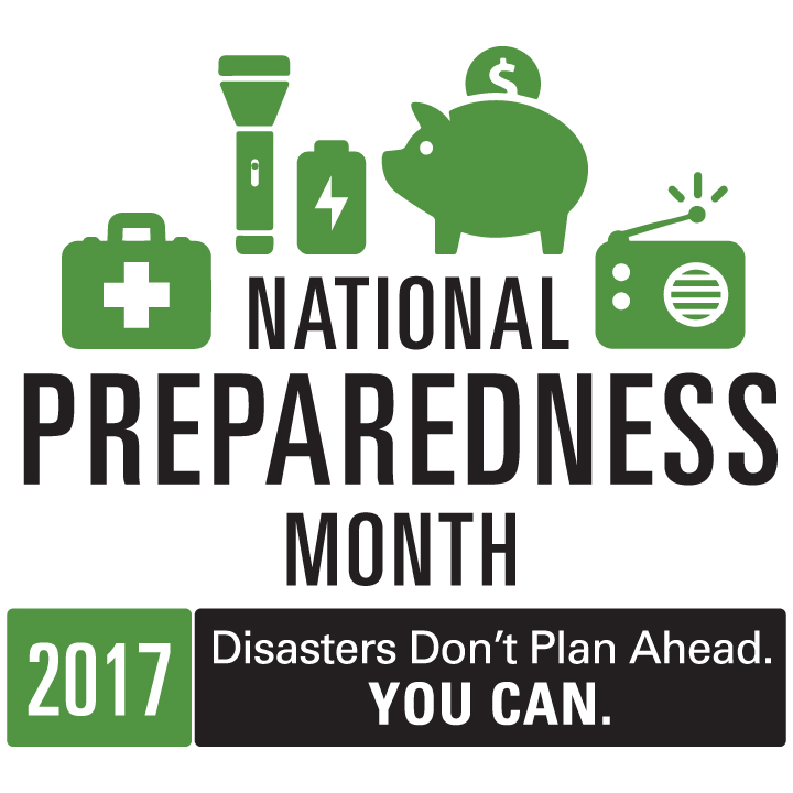 Get prepared during National Preparedness Month